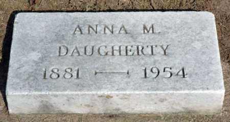 DAUGHERTY, ANNA M. - Meigs County, Ohio | ANNA M. DAUGHERTY - Ohio Gravestone Photos