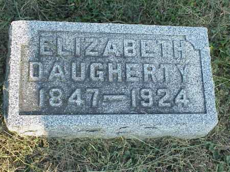 JACK DAUGHERTY, ELIZABETH HELEN - Meigs County, Ohio | ELIZABETH HELEN JACK DAUGHERTY - Ohio Gravestone Photos