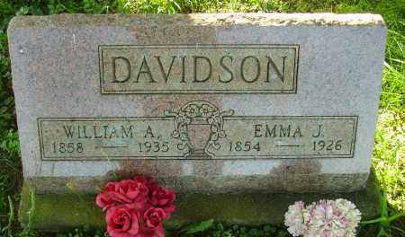 WRIGHT DAVIDSON, EMMA J. - Meigs County, Ohio | EMMA J. WRIGHT DAVIDSON - Ohio Gravestone Photos