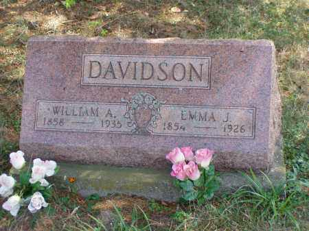 DAVIDSON, WILLIAM A. - Meigs County, Ohio | WILLIAM A. DAVIDSON - Ohio Gravestone Photos