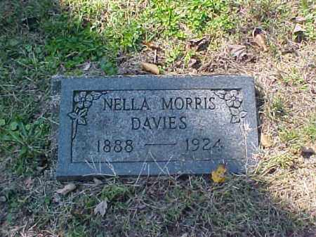 MORRIS DAVIES, NELLA - Meigs County, Ohio | NELLA MORRIS DAVIES - Ohio Gravestone Photos