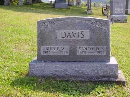 DAVIS, SANFORD K. - Meigs County, Ohio | SANFORD K. DAVIS - Ohio Gravestone Photos