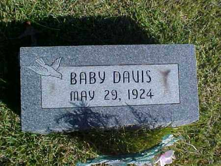 DAVIS, BABY - Meigs County, Ohio | BABY DAVIS - Ohio Gravestone Photos