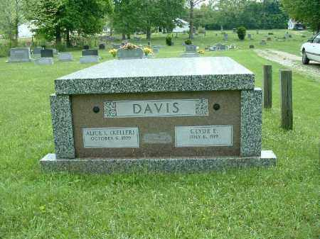 DAVIS, ALICE L. - Meigs County, Ohio | ALICE L. DAVIS - Ohio Gravestone Photos