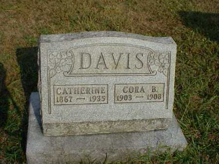 DAVIS, CORA B. - Meigs County, Ohio | CORA B. DAVIS - Ohio Gravestone Photos