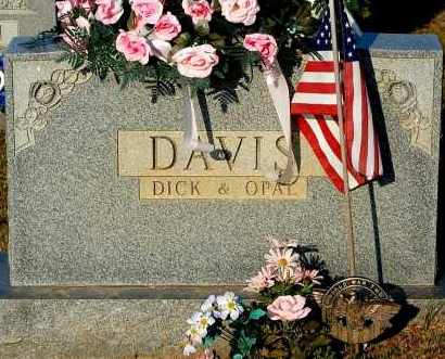 DAVIS, DICK - Meigs County, Ohio | DICK DAVIS - Ohio Gravestone Photos