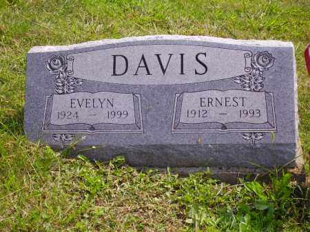 GOFF DAVIS, EVELYN - Meigs County, Ohio | EVELYN GOFF DAVIS - Ohio Gravestone Photos