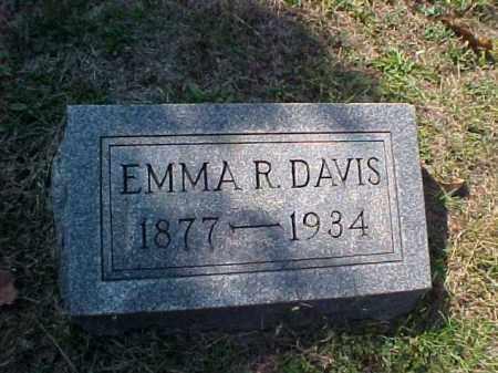 DAVIS, EMMA R. - Meigs County, Ohio | EMMA R. DAVIS - Ohio Gravestone Photos