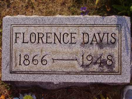 DAVIS, FLORENCE - Meigs County, Ohio | FLORENCE DAVIS - Ohio Gravestone Photos