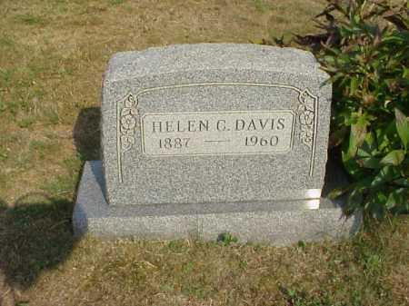 DAVIS, HELEN C. - Meigs County, Ohio | HELEN C. DAVIS - Ohio Gravestone Photos