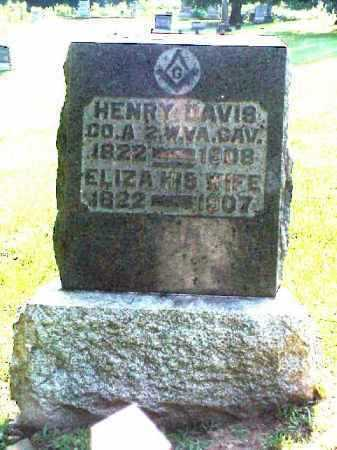DAVIS, HENRY - Meigs County, Ohio | HENRY DAVIS - Ohio Gravestone Photos