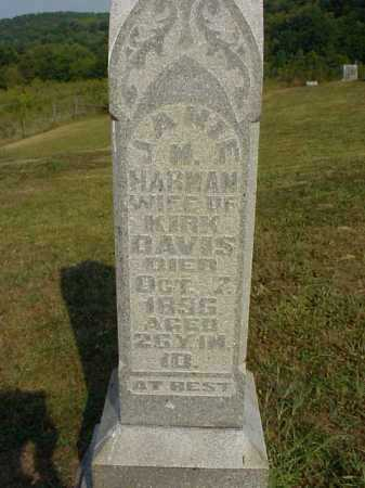 DAVIS, JANIE M. - Meigs County, Ohio | JANIE M. DAVIS - Ohio Gravestone Photos
