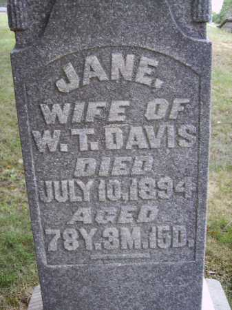 DAVIS, JANE - CLOSEVIEW - Meigs County, Ohio | JANE - CLOSEVIEW DAVIS - Ohio Gravestone Photos