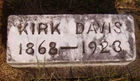 DAVIS, KIRK - Meigs County, Ohio | KIRK DAVIS - Ohio Gravestone Photos