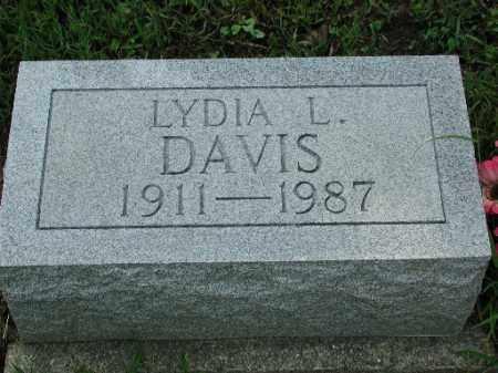 DAVIS, LYDIA L. - Meigs County, Ohio | LYDIA L. DAVIS - Ohio Gravestone Photos