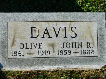 DAVIS, JOHN R. - Meigs County, Ohio | JOHN R. DAVIS - Ohio Gravestone Photos