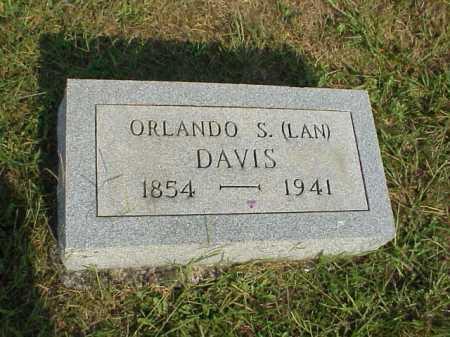 DAVIS, ORLANDO S. [LAN] - Meigs County, Ohio | ORLANDO S. [LAN] DAVIS - Ohio Gravestone Photos