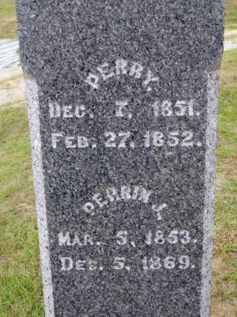 DAVIS, PERRIN J. - CLOSE VIEW - Meigs County, Ohio | PERRIN J. - CLOSE VIEW DAVIS - Ohio Gravestone Photos
