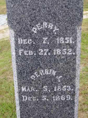 DAVIS, PERRY - CLOSE VIEW - Meigs County, Ohio | PERRY - CLOSE VIEW DAVIS - Ohio Gravestone Photos