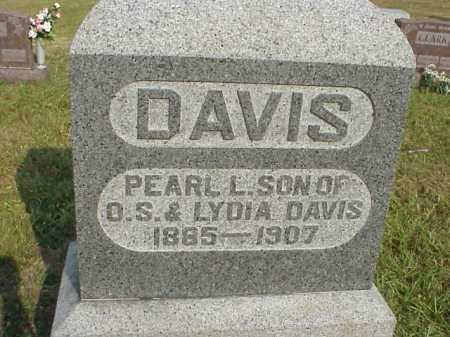 DAVIS, PEARL L. - Meigs County, Ohio | PEARL L. DAVIS - Ohio Gravestone Photos