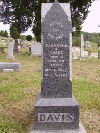 DAVIS, SAMANTHA M. - Meigs County, Ohio | SAMANTHA M. DAVIS - Ohio Gravestone Photos