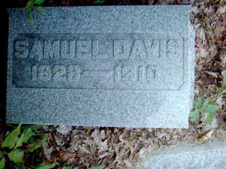 DAVIS, SAMUEL - Meigs County, Ohio | SAMUEL DAVIS - Ohio Gravestone Photos