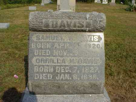 DAVIS, ORRILLA M. - Meigs County, Ohio | ORRILLA M. DAVIS - Ohio Gravestone Photos