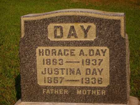 DAY, JUSTINA DAY - Meigs County, Ohio | JUSTINA DAY DAY - Ohio Gravestone Photos