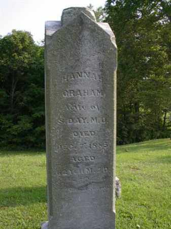 GRAHAM DAY, HANNAH - Meigs County, Ohio | HANNAH GRAHAM DAY - Ohio Gravestone Photos
