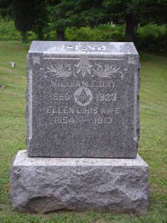 DAY, WILLIAM F. - Meigs County, Ohio | WILLIAM F. DAY - Ohio Gravestone Photos
