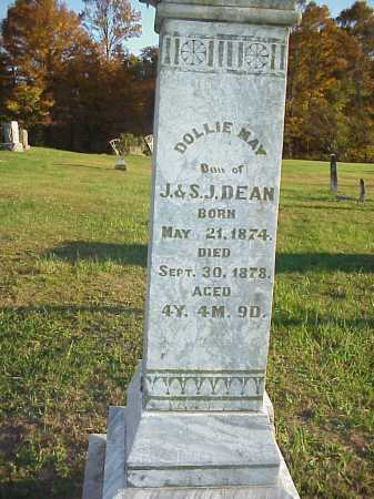 DEAN, DOLLIE MAY - Meigs County, Ohio | DOLLIE MAY DEAN - Ohio Gravestone Photos