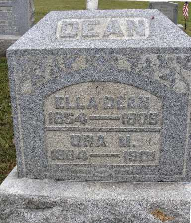 DEAN, ELLA - Meigs County, Ohio | ELLA DEAN - Ohio Gravestone Photos