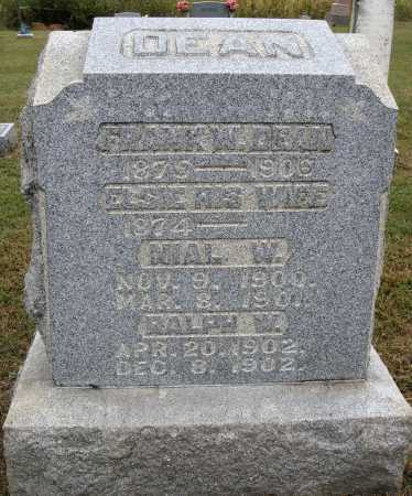 THOMPSON DEAN, ELSIE - Meigs County, Ohio | ELSIE THOMPSON DEAN - Ohio Gravestone Photos