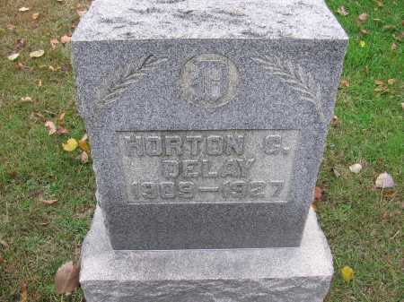 DELAY, HORTON CHURCH - Meigs County, Ohio | HORTON CHURCH DELAY - Ohio Gravestone Photos
