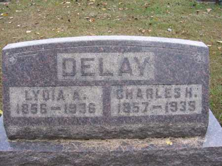 DELAY, LYDIA A. - Meigs County, Ohio | LYDIA A. DELAY - Ohio Gravestone Photos