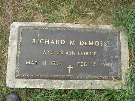 DEMOSS, RICHARD M. - Meigs County, Ohio | RICHARD M. DEMOSS - Ohio Gravestone Photos