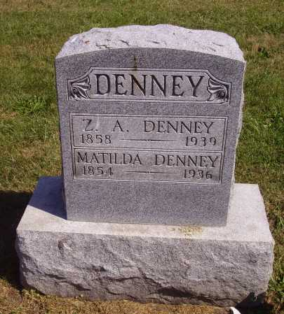 TUTTLE DENNEY, MATILDA - Meigs County, Ohio | MATILDA TUTTLE DENNEY - Ohio Gravestone Photos