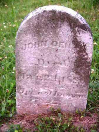 DENNIS, JOHN - Meigs County, Ohio | JOHN DENNIS - Ohio Gravestone Photos