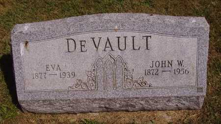 DEVAULT, EVA - Meigs County, Ohio | EVA DEVAULT - Ohio Gravestone Photos