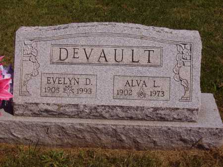 KRUSKAMP DEVAULT, EVELYN DRUSILLA - Meigs County, Ohio | EVELYN DRUSILLA KRUSKAMP DEVAULT - Ohio Gravestone Photos