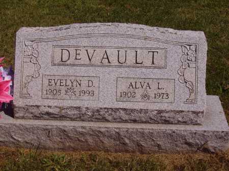 DEVAULT, ALVA L. - Meigs County, Ohio | ALVA L. DEVAULT - Ohio Gravestone Photos