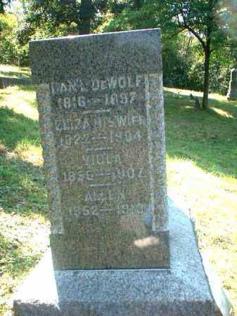 DEWOLF, [EATHAN]ALLEN - Meigs County, Ohio | [EATHAN]ALLEN DEWOLF - Ohio Gravestone Photos