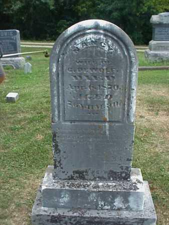 DEWOLF, NANCY - Meigs County, Ohio | NANCY DEWOLF - Ohio Gravestone Photos
