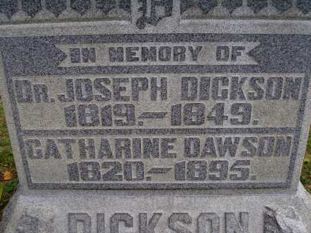 DAWSON DICKSON, CATHARINE - CLOSE VIEW - Meigs County, Ohio | CATHARINE - CLOSE VIEW DAWSON DICKSON - Ohio Gravestone Photos