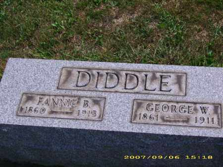 DIDDLE, GEORGE WASHINGTON - Meigs County, Ohio | GEORGE WASHINGTON DIDDLE - Ohio Gravestone Photos