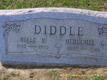 DIDDLE, BELLE B - Meigs County, Ohio | BELLE B DIDDLE - Ohio Gravestone Photos