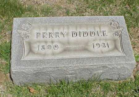 DIDDLE, PERRY [GEORGE PERRY] - Meigs County, Ohio | PERRY [GEORGE PERRY] DIDDLE - Ohio Gravestone Photos