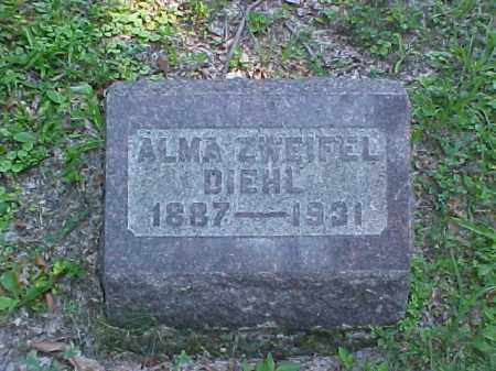 DIEHL, ALMA - Meigs County, Ohio | ALMA DIEHL - Ohio Gravestone Photos