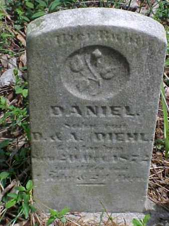 DIEHL, DANIEL - Meigs County, Ohio | DANIEL DIEHL - Ohio Gravestone Photos