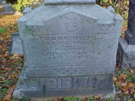 FRUTH DIEHL, CHRISTINA - Meigs County, Ohio | CHRISTINA FRUTH DIEHL - Ohio Gravestone Photos